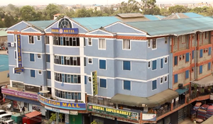 Eastleigh, Nairobi - The Somali-owned Eastleigh Mall, Andalus Hotel and Horyal Supermarket in central Eastleigh.