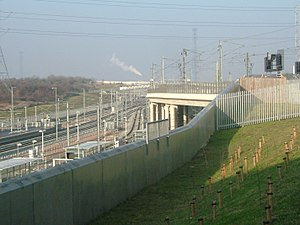 Ebbsfleet International railway station - Image: Ebbsfleet 3726