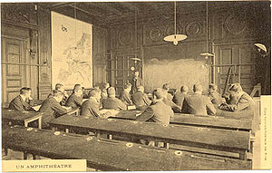 Mines ParisTech - A classroom during the nineteenth century