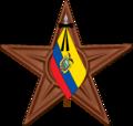 Ecuador Barnstar flag mourn.png