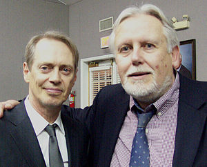 Edward J. Renehan Jr. - Friends Edward Renehan and Steve Buscemi photographed in the Spring of 2015.