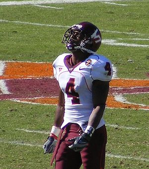 Eddie Royal - Royal during his tenure at Virginia Tech.