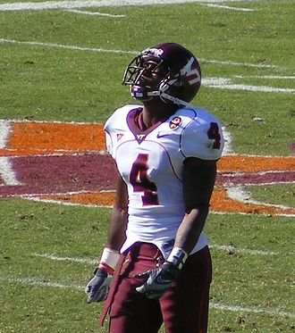 Eddie Royal - Royal during his tenure at Virginia Tech.