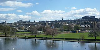 Inverleith suburb of Edinburgh, Scotland