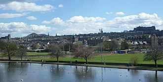 Inverleith - Edinburgh from Inverleith Park