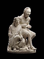 File:Edmonia Lewis - Old Arrow Maker.jpg - Wikimedia Commons