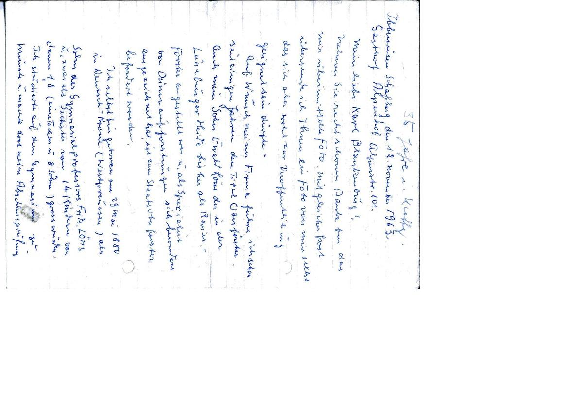 Tochter 18 brief an meine zum Brief an
