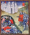 Edward III counting the dead on the battlefield of Crécy.jpg