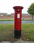 Edward VII post box, Speke Road, Garston.jpg