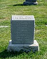 Edward Welsh grave section 8 - Mt Olivet - Washington DC - 2014.jpg