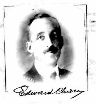 Edward Chiera - Edward Chiera, from a 1924 passport application.