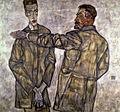 Egon Schiele - Doppelbildnis Heinrich und Otto Benesch.jpg