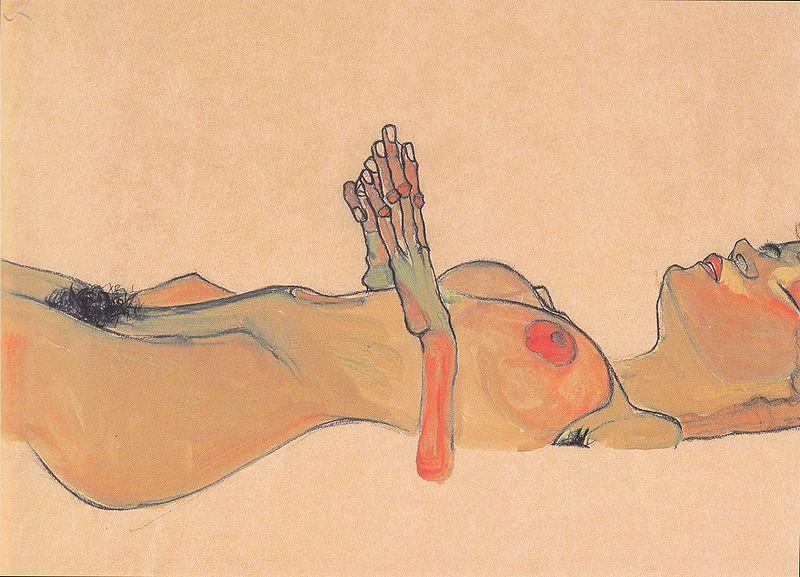 Archivo:Egon Schiele - Totes Mädchen - 1910.jpeg