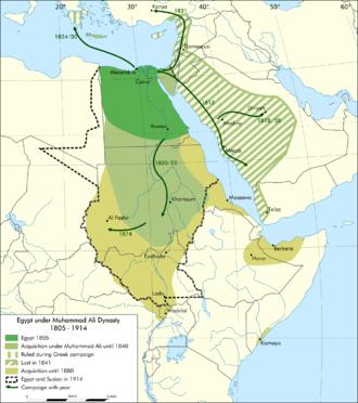 Muhammad Ali dynasty - Egypt under Muhammad Ali Dynasty