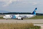 Egyptair, SU-GDA, Boeing 737-866 (20846858625).jpg