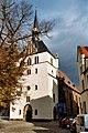 Eisenberg (Thüringen), the town church.jpg