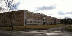 Edificio Ekonomikum, Universidad de Uppsala (1975)