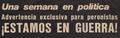 El Caudillo - Estamos en guerra - 19JUL1974.png