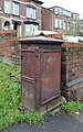 Electrical cabinet, Derby Road, Tranmere.jpg