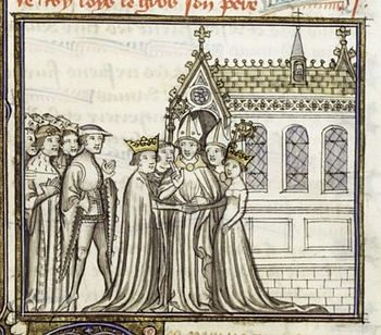Louis VII and Eleanor