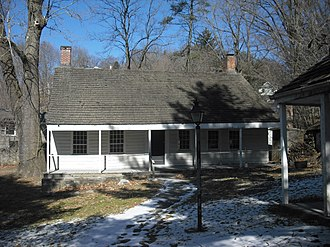 Battle of White Plains - The Elijah Miller House, which served as George Washington's headquarters in White Plains.