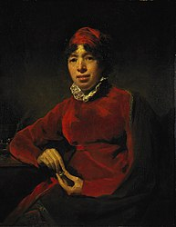 Henry Raeburn: Elizabeth Hamilton, 1756 - 1816. Writer and educationalist
