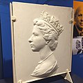 Elizabeth II Machin series stamps sculpture.jpg