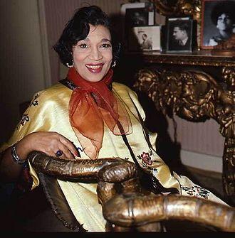 Elisabeth Welch - Elisabeth Welch in 1977 by Allan Warren