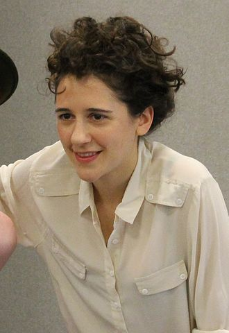 English actress Ellie Kendrick portrayed Anne Frank. Ellie Kendrick.jpg