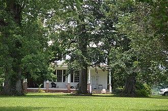 National Register of Historic Places listings in Gates County, North Carolina - Image: Elmwood Plantation House