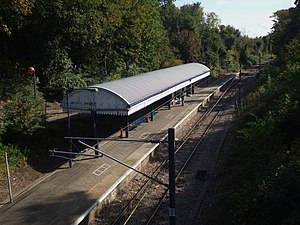 Emerson Park railway station - Emerson Park railway station in 2008