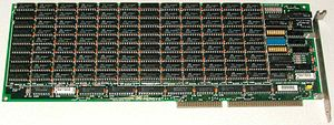 Expanded memory - Emulex Persyst 4 MiB ISA memory board