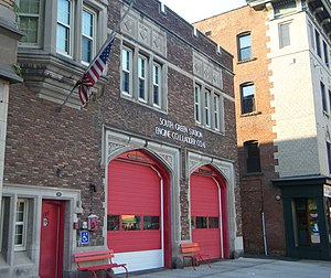 Hartford Fire Department - Image: Engine Co 1 Fire Station Hartford CT