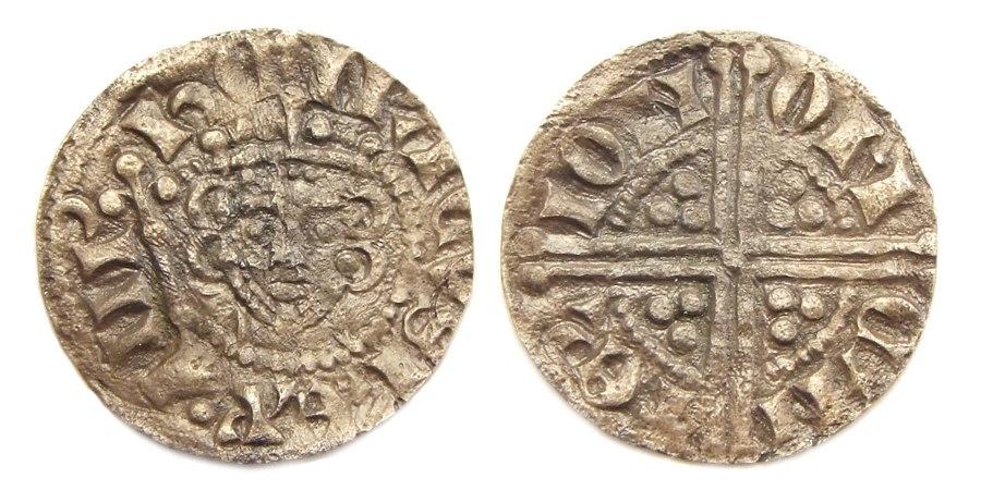 England longcross penny Henry III Canterbury mint
