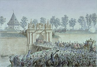 Timeline of French history - Image: Entrée Louis XV à Strasbourg