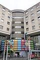Entrée hôpital des enfants, CHU de Bordeaux, décoration de Jofo.jpg