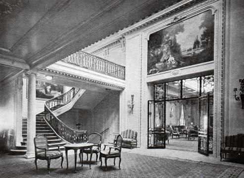 Entrance Foyer of the RMS Majestic (1914)