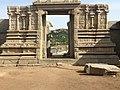 Entrance of the sri Vitthala Temple, Humpi, India.jpg