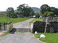 Entrance to Far Gearstones Farm - geograph.org.uk - 643449.jpg