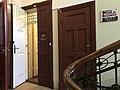 Entrance to Romans Sutas and Aleksandra Beļcovas museum at Elizabetes iela 57a in Riga.jpg