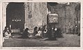 Entrance to the church of St Joseph (San José), Madrid, figures seated on the ground in front MET DP876135.jpg
