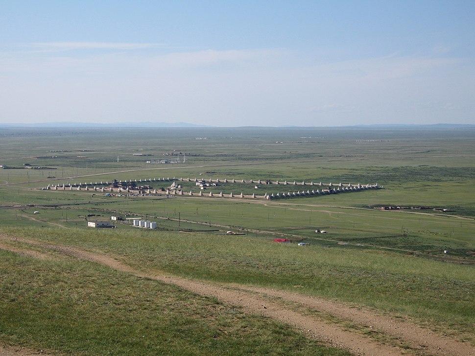 Scenery around Erdene Zuu monastery