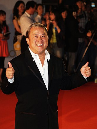 Eric Tsang - Eric Tsang at the Shanghai Film Festival in 2007