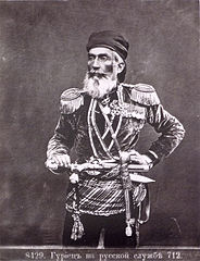 Ermakov. № 8429. A Gurian man in the Imperial Russian military service. 712.jpg