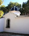Ermita del santíssim Crist del Calvari, Gata, cúpula.JPG