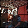 Ernest Hemingway Aboard the Pilar 1950 - NARA - 192662.jpg