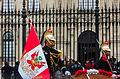 Escolta presidencial, Plaza de Armas, Lima, Perú, 2015-07-28, DD 38.JPG