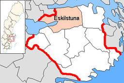 Eskilstuna Municipality in Södermanland County.png