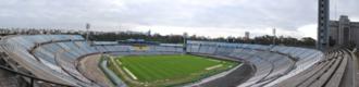 Estadio Centenario - Estadio Centenario. Panorama from Olympic tribune.