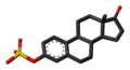 Estrone sulfate 3D skeletal.png